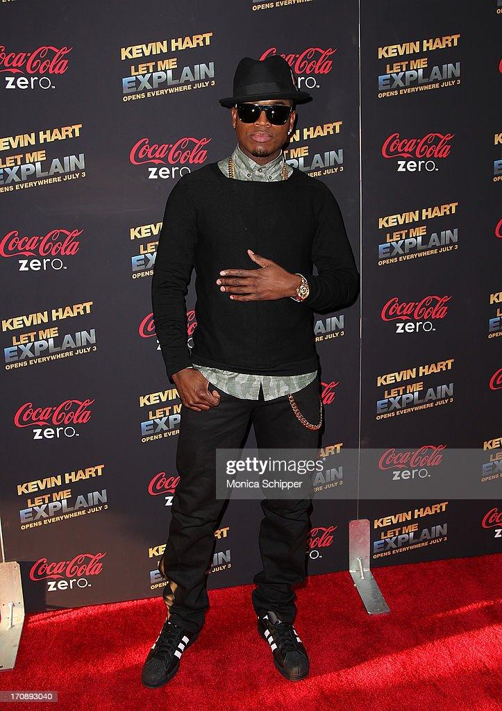 R & B recording artist Ne-Yo attends the 'Kevin Hart:Let Me Explain' premiere at Regal Cinemas Union Square on June 19, 2013 in New York City.