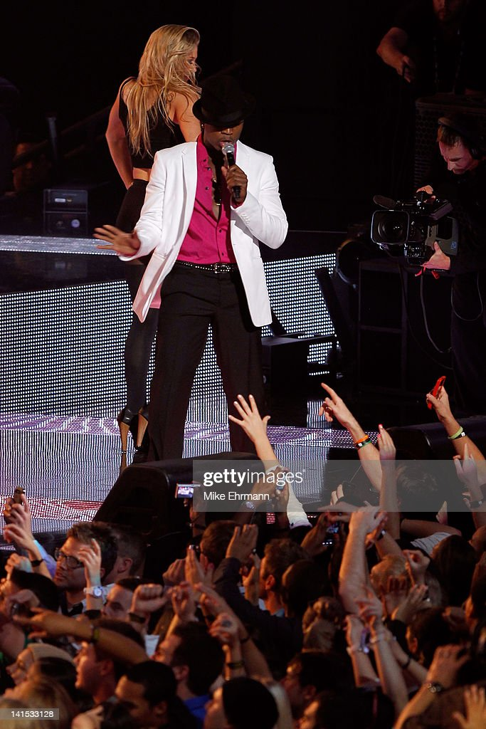 Recording artist <a gi-track='captionPersonalityLinkClicked' href=/galleries/search?phrase=Ne-Yo&family=editorial&specificpeople=451543 ng-click='$event.stopPropagation()'>Ne-Yo</a> performs at halftime during the 2012 NBA All-Star Game at the Amway Center on February 26, 2012 in Orlando, Florida.
