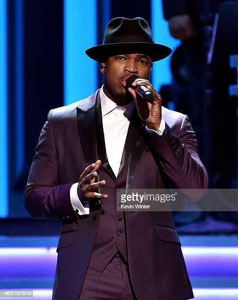 Recording artist NeYo performs onstage during Stevie Wonder Songs In The Key Of Life An AllStar GRAMMY Salute at Nokia Theatre LA Live on February 10...