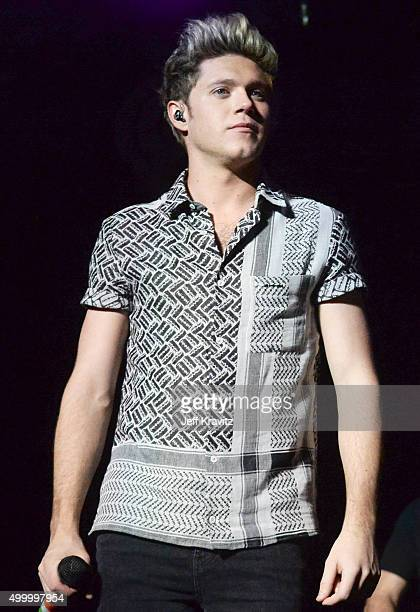 Recording artist Niall Horan of One Direction performs onstage during 1027 KIIS FM's Jingle Ball 2015 Presented by Capital One at STAPLES CENTER on...