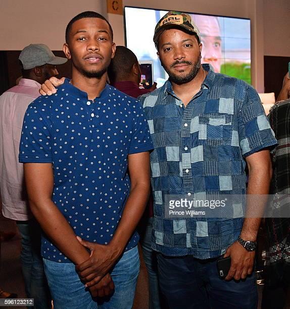 Recording artist Nick Grant and Jason Geter attend Celebrating 25 Years Boyz N The Hood on August 23 2016 in Atlanta Georgia