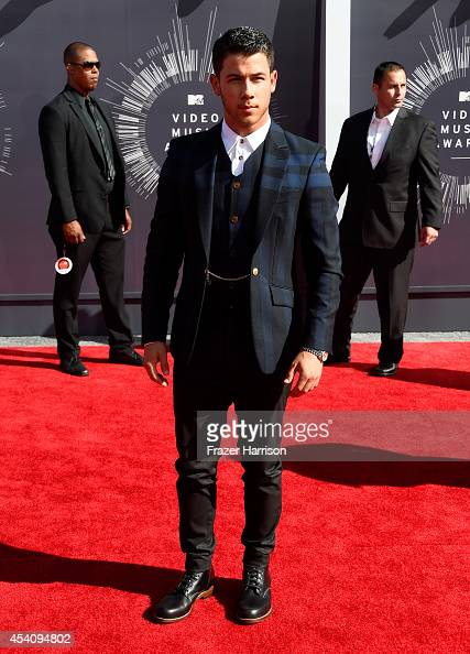 Recording artist Nick Jonas attends the 2014 MTV Video Music Awards at The Forum on August 24 2014 in Inglewood California