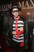 Recording artist Nick Jonas attends the Maxim Halloween Party Presented By Karma International on October 24 2015 in Los Angeles California