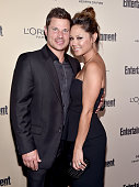 Recording artist Nick Lachey and tv personality Vanessa Lachey attend the 2015 Entertainment Weekly PreEmmy Party at Fig Olive Melrose Place on...
