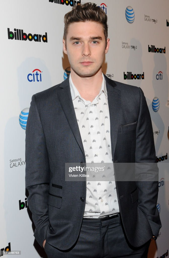 Recording artist Nick Louis Noonan of Karmin attends Citi And AT&T Present The Billboard After Party at The London Hotel on February 10, 2013 in West Hollywood, California.