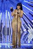 Recording artist Nicki Minaj accepts award for Best HipHop Video for 'Anaconda' onstage during the 2015 MTV Video Music Awards at Microsoft Theater...