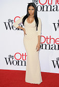 Recording artist Nicki Minaj arrives at the Los Angeles premiere of 'The Other Woman' at Regency Village Theatre on April 21 2014 in Westwood...