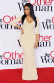 Recording artist Nicki Minaj arrives at the Los Angeles Premiere 'The Other Woman' at Regency Village Theatre on April 21 2014 in Westwood California
