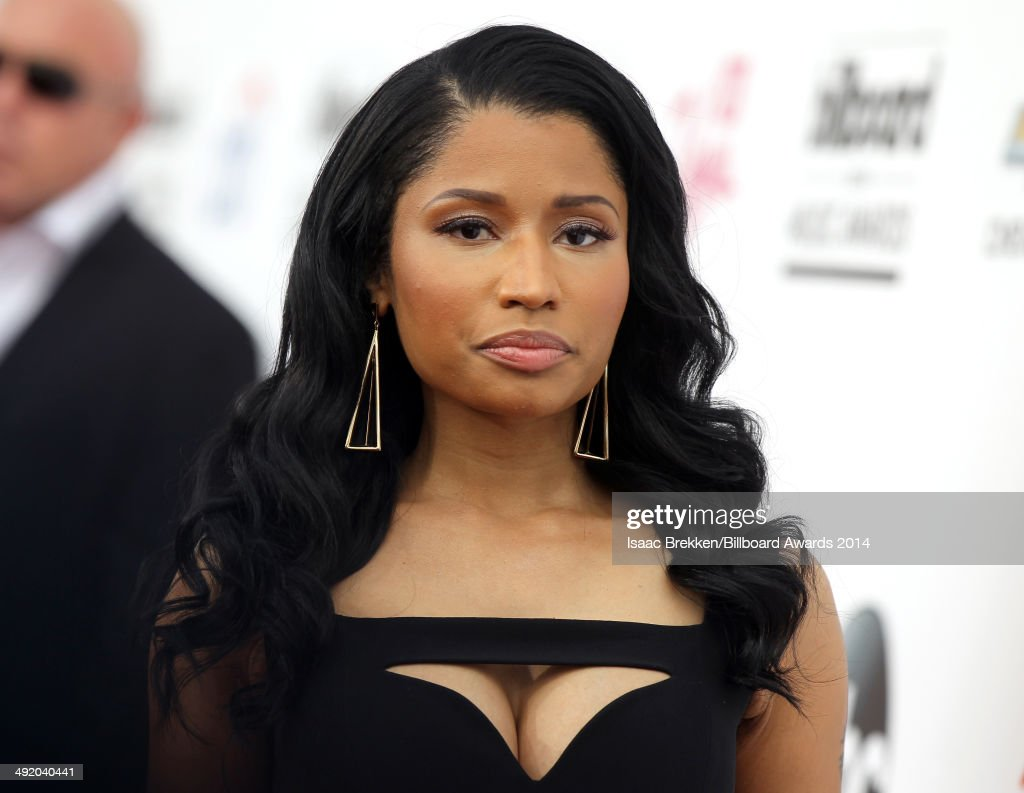 Recording artist <a gi-track='captionPersonalityLinkClicked' href=/galleries/search?phrase=Nicki+Minaj+-+Performer&family=editorial&specificpeople=6362705 ng-click='$event.stopPropagation()'>Nicki Minaj</a> attends the 2014 Billboard Music Awards at the MGM Grand Garden Arena on May 18, 2014 in Las Vegas, Nevada.