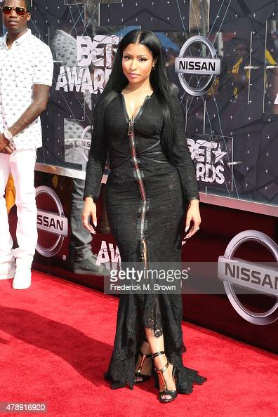 Recording artist Nicki Minaj attends the 2015 BET Awards at the Microsoft Theater on June 28 2015 in Los Angeles California