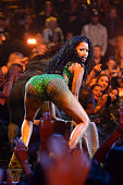 Recording artist Nicki Minaj performs onstage during the 2014 MTV Video Music Awards at The Forum on August 24 2014 in Inglewood California