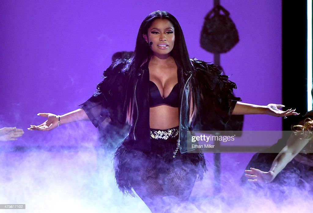 Recording artist Nicki Minaj performs onstage during the 2015 Billboard Music Awards at MGM Grand Garden Arena on May 17 2015 in Las Vegas Nevada