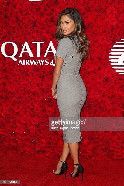 Recording artist Nicole Scherzinger attends the Qatar Airways Los Angeles Gala at Dolby Theatre on January 12 2016 in Hollywood California