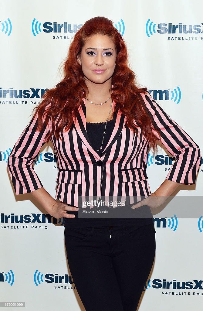 Recording artist Nikki WIlliams visits SiriusXM Studios on July 30, 2013 in New York City.