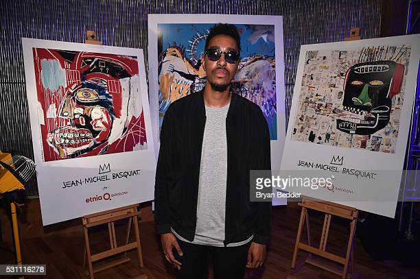 recording artist oddisee attends the launch of the JeanMichel Basquiat for Etnia Barcelona Collection on May 12 2016 in Brooklyn New York