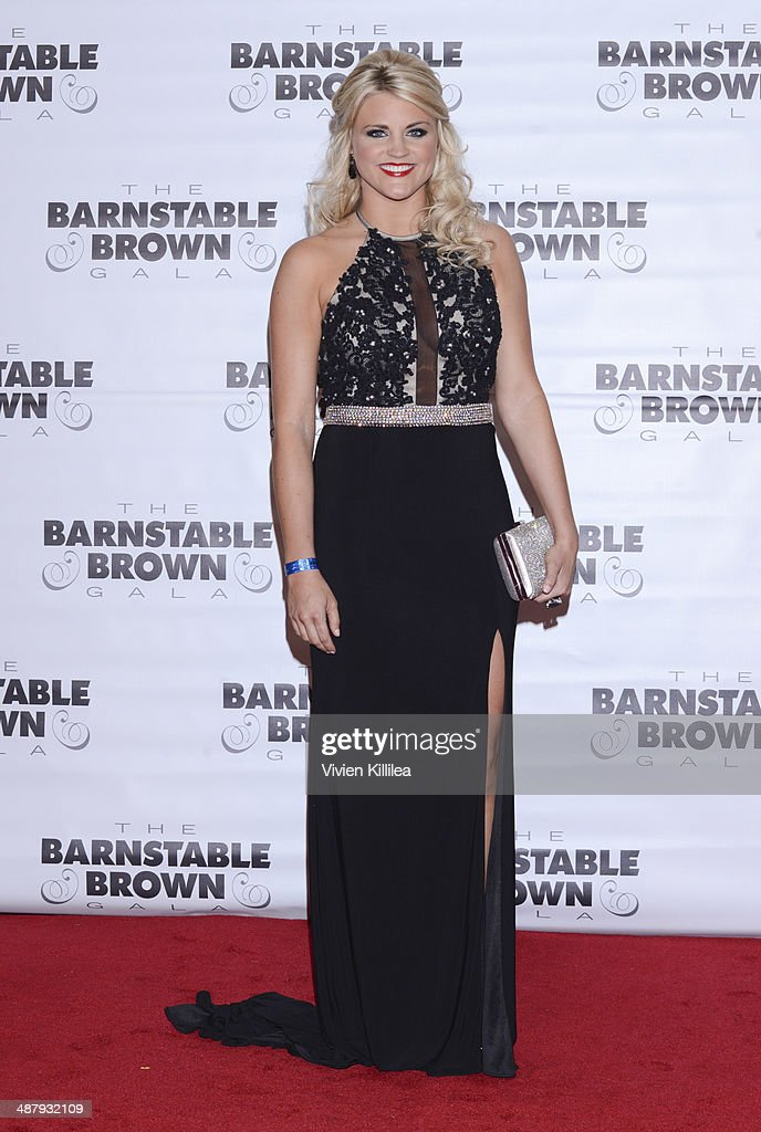 Recording artist Olivia Henken attends the Barnstable Brown Kentucky Derby Eve Gala at Barnstable Brown House on May 2, 2014 in Louisville, Kentucky.