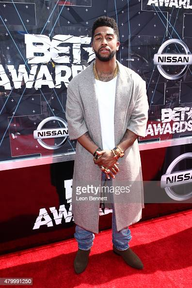 Recording artist Omarion arrived at the BET Make A Wish Foundation Recipients BET Experience At LA Live Red Carpet arrivals Weekend Events on June 28...