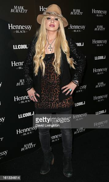 Recording artist Orianthi attends the Hennessy Toasts Achievements In Music event with GRAMMY Host LL Cool J and Mark Burnett at The Bazaar at the...