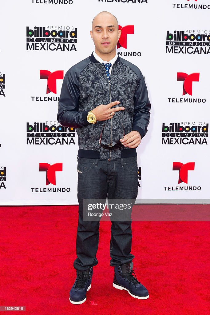 Recording artist Osmar Escobar attends the 2013 Billboard Mexican Music Awards arrivals at Dolby Theatre on October 9, 2013 in Hollywood, California.