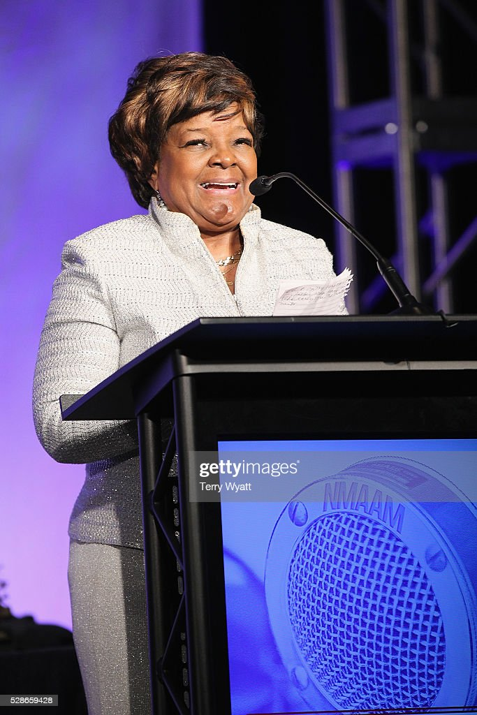 Recording artist Pastor Shirley Caesar speaks onstage during NMAAM's Celebration Of Legends Red Carpet And Luncheon on May 6, 2016 in Nashville, Tennessee.