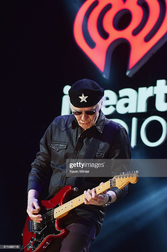 Recording artist Paul Dean of music group Loverboy performs onstage during the first ever iHeart80s Party at The Forum on February 20 2016 in...