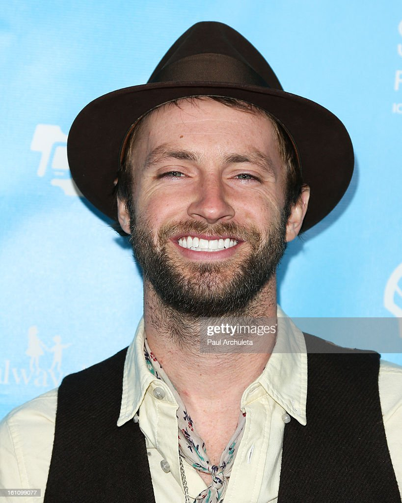 Recording Artist Paul McDonald attends the 'mPowering Action' platform launch at The Conga Room at L.A. Live on February 8, 2013 in Los Angeles, California.