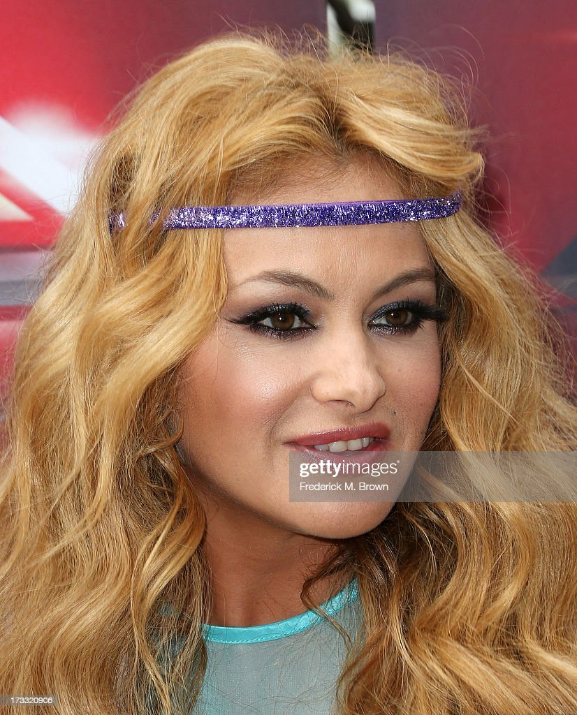 Recording artist Paulina Rubio attends Fox's 'The X Factor' Judges at the Galen Center on July 11, 2013 in Los Angeles, California.