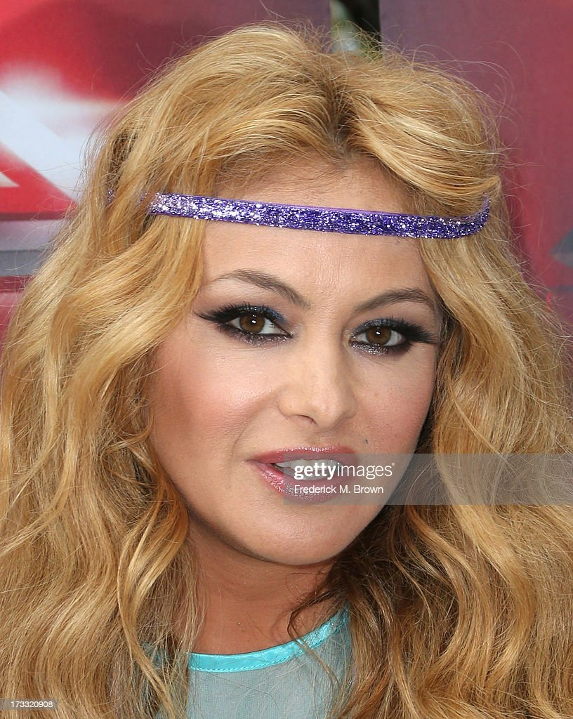 Recording artist <a gi-track='captionPersonalityLinkClicked' href=/galleries/search?phrase=Paulina+Rubio&family=editorial&specificpeople=201804 ng-click='$event.stopPropagation()'>Paulina Rubio</a> attends Fox's 'The X Factor' Judges at the Galen Center on July 11, 2013 in Los Angeles, California.