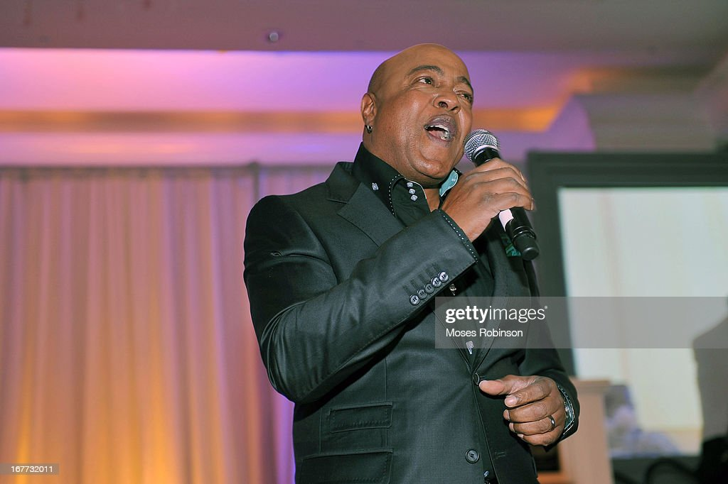 Recording Artist Peabo Bryson performs at the Care For Congo Gala 2013 at the St. Regis Hotel on April 13, 2013 in Atlanta, Georgia.