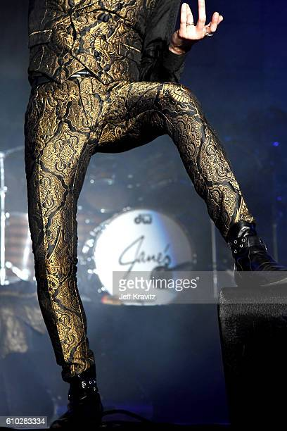Recording artist Perry Farrell of Jane's Addiction performs onstage during day 2 of the Life Is Beautiful festival on September 24 2016 in Las Vegas...