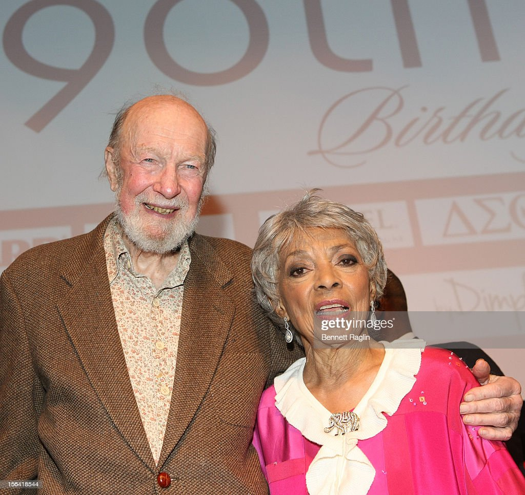Recording artist <a gi-track='captionPersonalityLinkClicked' href=/galleries/search?phrase=Pete+Seeger&family=editorial&specificpeople=213821 ng-click='$event.stopPropagation()'>Pete Seeger</a> and <a gi-track='captionPersonalityLinkClicked' href=/galleries/search?phrase=Ruby+Dee&family=editorial&specificpeople=217744 ng-click='$event.stopPropagation()'>Ruby Dee</a> attend the 'Life's Essentials With <a gi-track='captionPersonalityLinkClicked' href=/galleries/search?phrase=Ruby+Dee&family=editorial&specificpeople=217744 ng-click='$event.stopPropagation()'>Ruby Dee</a>' screening at The Schomburg Center for Research in Black Culture on November 14, 2012 in New York City.
