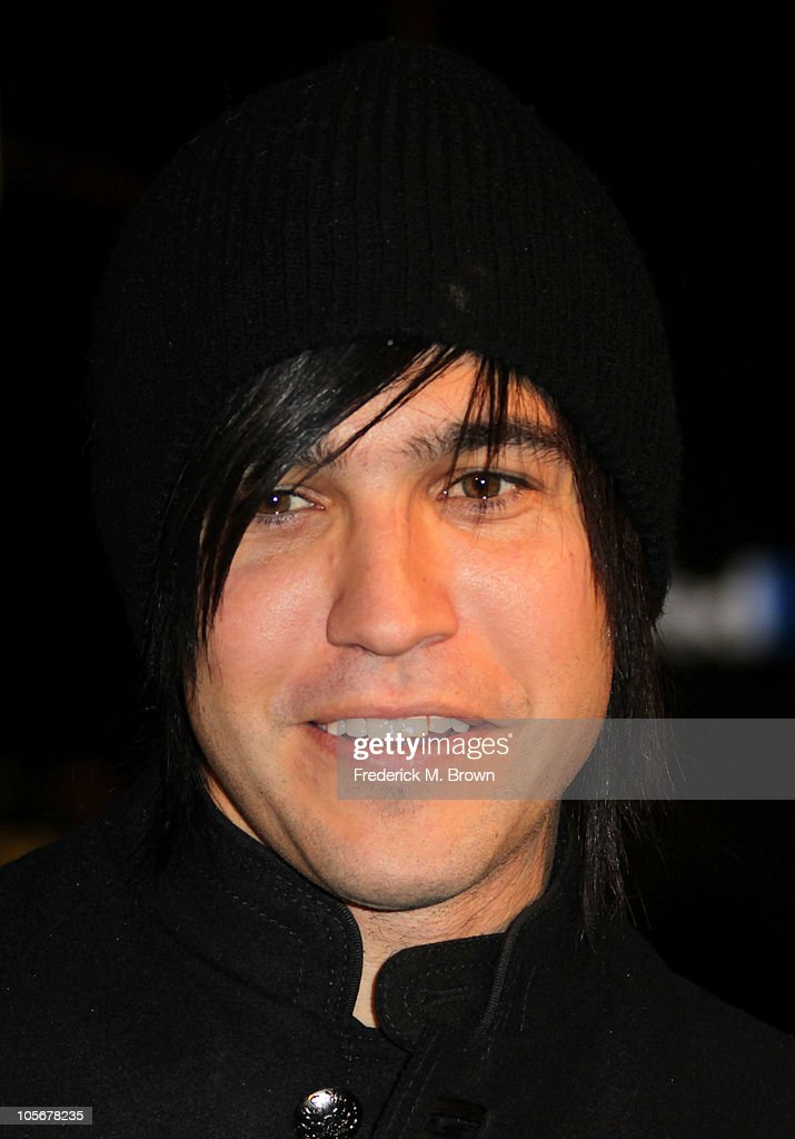 Recording artist Pete Wentz attends the premiere of the film 'Runaway' at the Harmony Gold Preview House on October 18, 2010 in Los Angeles, California.