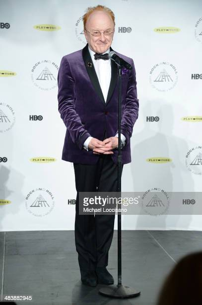 Recording artist Peter Asher attends the 29th Annual Rock And Roll Hall Of Fame Induction Ceremony at Barclays Center of Brooklyn on April 10 2014 in...