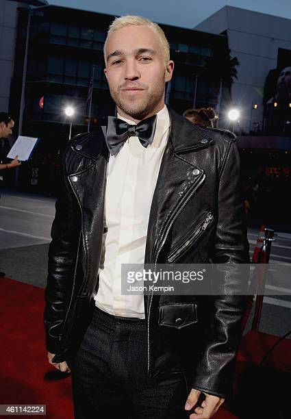 Recording artist Peter Wentz of music group Fall Out Boy attends The 41st Annual People's Choice Awards at Nokia Theatre LA Live on January 7 2015 in...