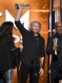 Recording artist Philip Sweet of music group Little Big Town accepts the Vocal Group of the Year award onstage during the 51st Academy of Country...