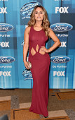 Recording artist Pia Toscano attends FOX's 'American Idol' Finale For The Farewell Season at Dolby Theatre on April 7 2016 in Hollywood California