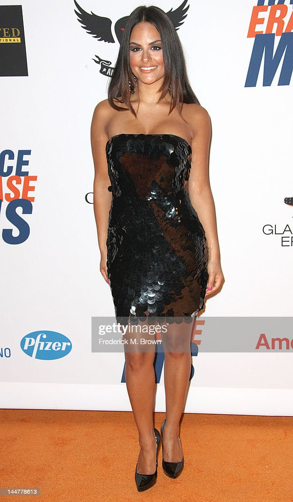 Recording artist Pia Toscano attends the 19th Annual Race To Erase MS - 'Glam Rock To Erase MS' event at the Hyatt Regency Century Plaza on May 18, 2012 in Century City, California.