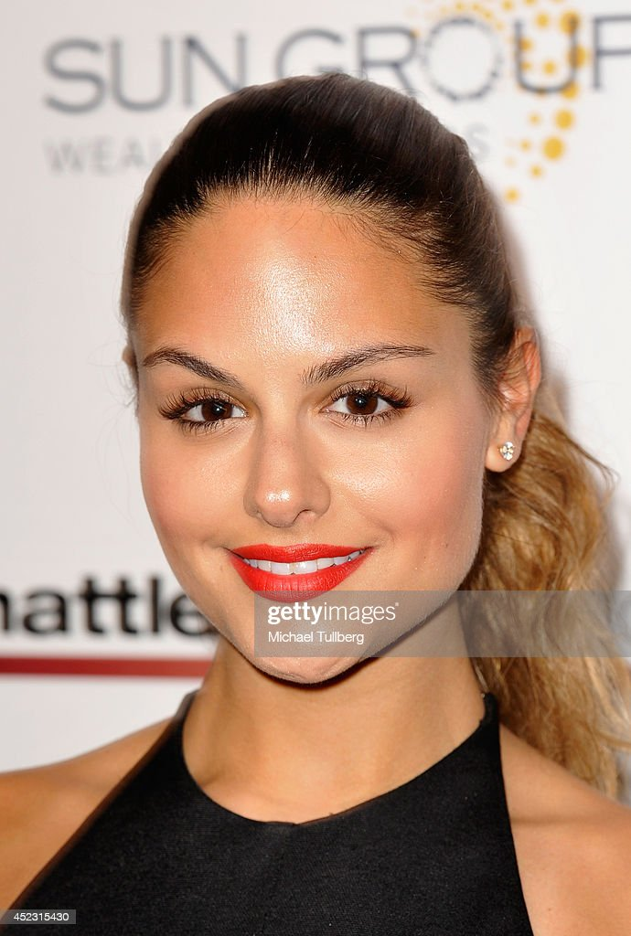 Recording artist Pia Toscano attends the Matt Leinart Foundation's 8th Annual Celebrity Bowl at Lucky Strike Bowling Alley on July 17, 2014 in Hollywood, California.