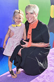Recording artist Pink and daughter attend the Los Angeles Premiere and Party for Disney•Pixar's INSIDE OUT at El Capitan Theatre on June 8 2015 in...
