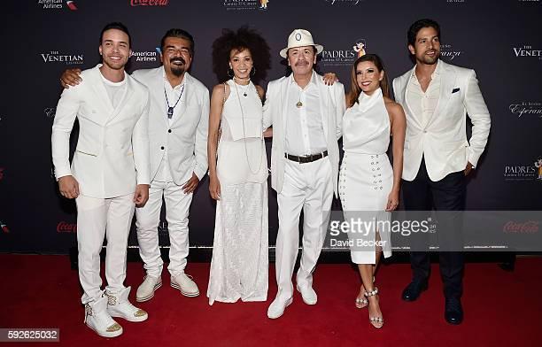 Recording artist Prince Royce actor/comedian George Lopez drummer Cindy Blackman recording artist Carlos Santana actress Eva Longoria and actor Adam...