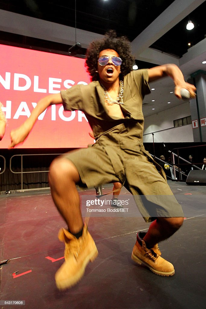 Recording artist <a gi-track='captionPersonalityLinkClicked' href=/galleries/search?phrase=Princeton+-+Musician&family=editorial&specificpeople=9744235 ng-click='$event.stopPropagation()'>Princeton</a> of Mindless Behavior performs onstage during the Coke music studio during the 2016 BET Experience on June 26, 2016 in Los Angeles, California.