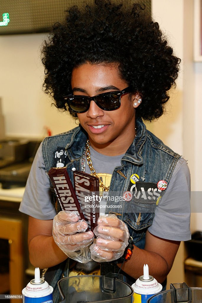 Recording artist Princeton of the music group Mindless Behavior attends the launch of their milkshake at Millions Of Milkshakes on March 16, 2013 in West Hollywood, California.
