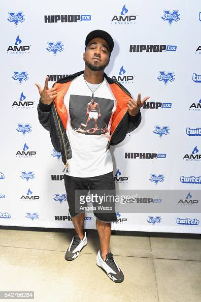 Recording artist Problem attends Next Level Presented By AMP Energy A Hip Hop Gaming Tournament at Rostrum Records on June 23 2016 in Los Angeles...