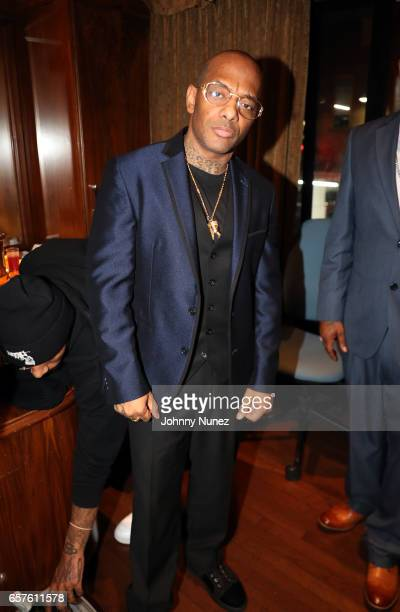 Recording artist Prodigy backstage at Blue Note Jazz Club on March 24 2017 in New York City