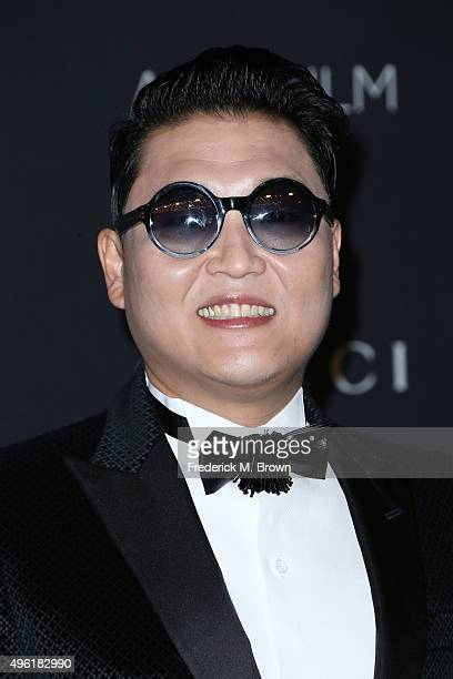 Recording artist PSY attends LACMA 2015 ArtFilm Gala Honoring James Turrell and Alejandro G Iñárritu Presented by Gucci at LACMA on November 7 2015...