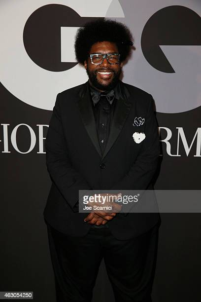 Recording artist Questlove attends GQ and Giorgio Armani Grammys After Party at Hollywood Athletic Club on February 8 2015 in Hollywood California