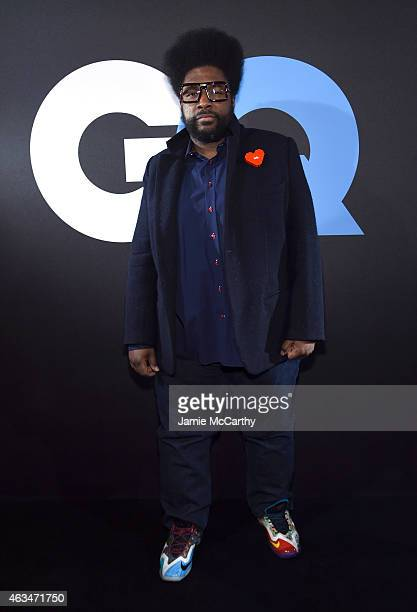 Recording artist Questlove attends GQ and LeBron James Celebrate AllStar Style on February 14 2015 in New York City