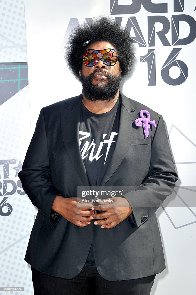 Recording artist <a gi-track='captionPersonalityLinkClicked' href=/galleries/search?phrase=Questlove&family=editorial&specificpeople=537550 ng-click='$event.stopPropagation()'>Questlove</a> attends the 2016 BET Awards at Microsoft Theater on June 26, 2016 in Los Angeles, California.