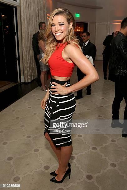 Recording artist Rachel Platten attends Sony Music Entertainment 2016 PostGrammy Reception at Hotel Bel Air on February 15 2016 in Los Angeles...