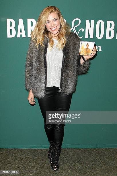 Recording Artist Rachel Platten signs copies of her debut album 'Wildfire' at Barnes Noble at The Grove on January 3 2016 in Los Angeles California